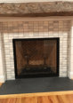 21573 - Honed Arabescato  2x4 Stacked - Fireplace
